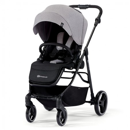Coche de Paseo Darling 3 in 1 Transformable Gris